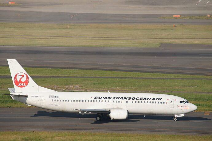 JAL-JA8996-Japan-Transocean-Air-Boeing-737-446-at-Haneda-Airport-1024x683